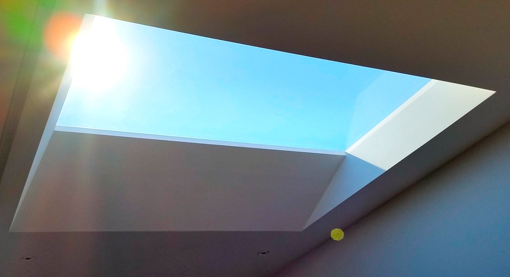 skylight in home